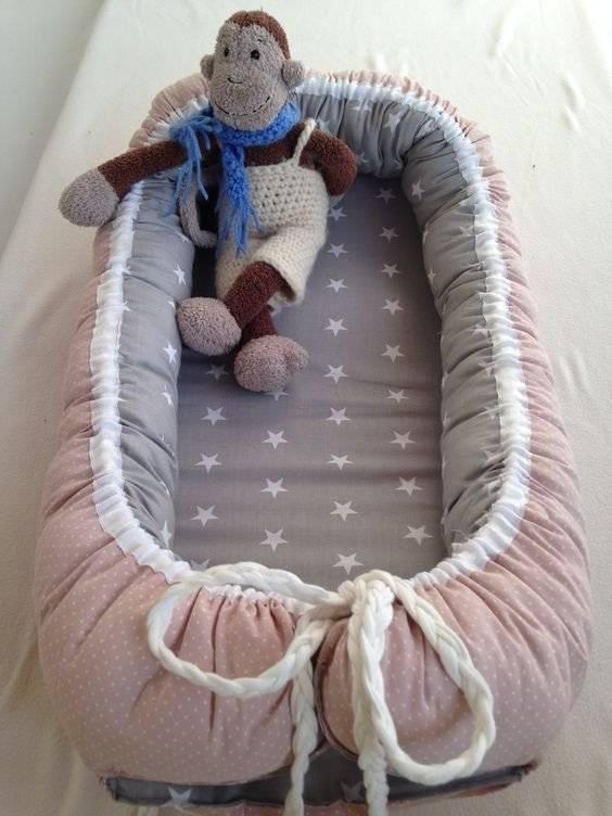 Мастер-класс, как сшить гнездышко для новорожденных