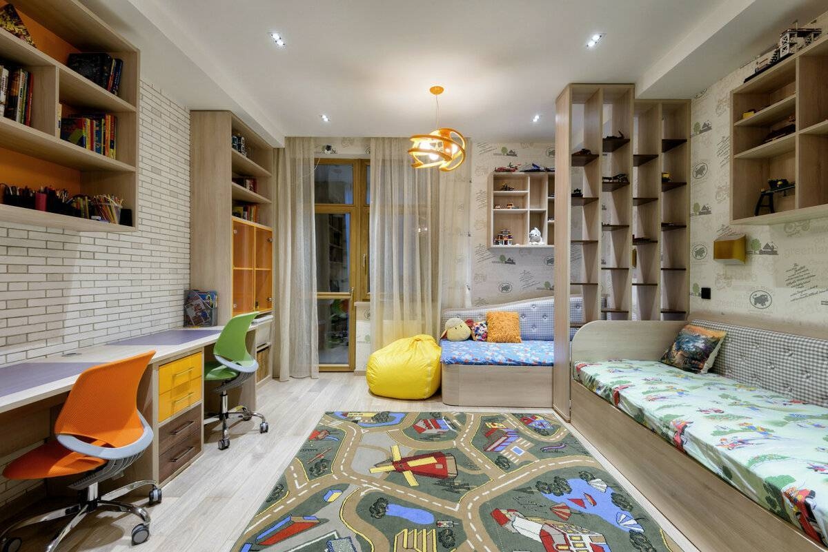 Дизайн однокомнатной квартиры для семьи с ребенком: 75 фото идей