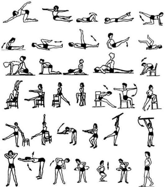 Упражнения лфк при сколиозе - гимнастика для детей и взрослых