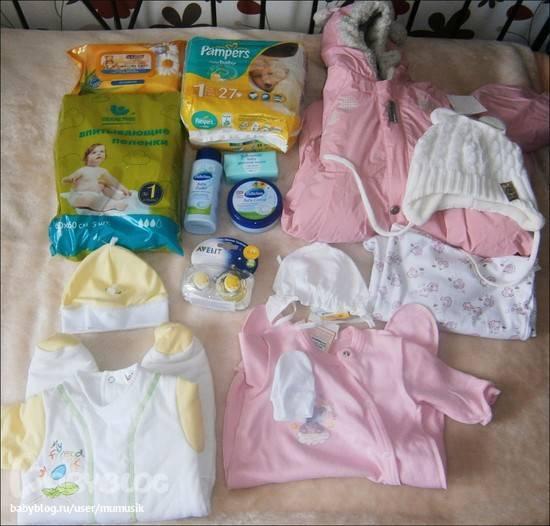 Что нужно купить для новорожденного ребенка: полный список вещей