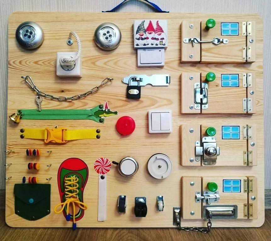 Делаем бизиборд своими руками: 5 идей