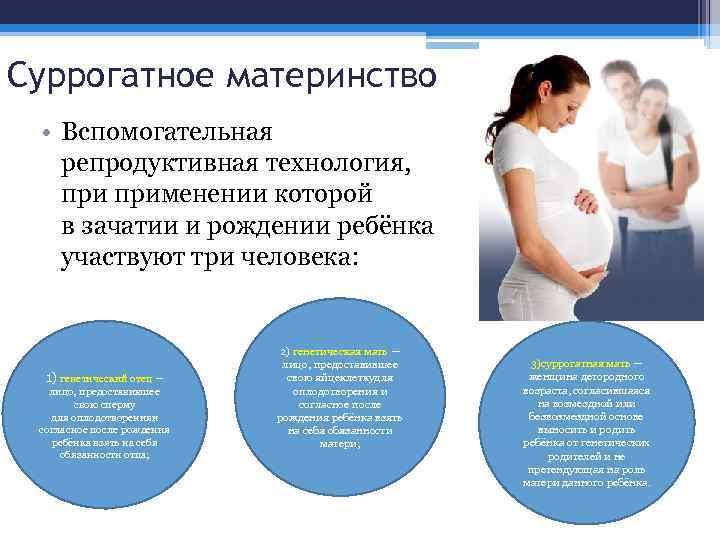 Суррогатное материнство: насколько законно на территории россии? какими правами обладает суррогатная мать