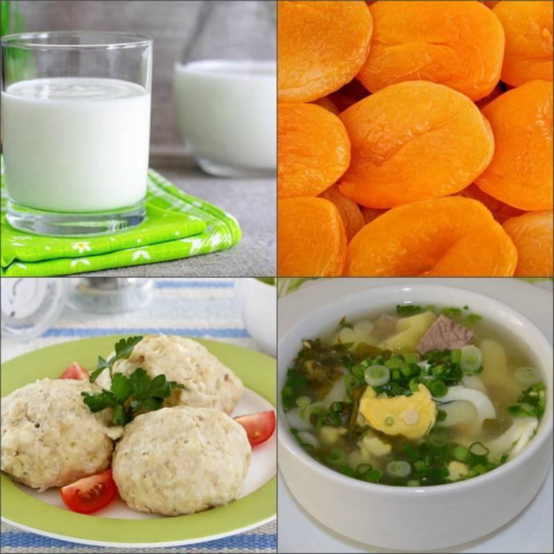 Продукты питания и диета при отравлении у ребенка