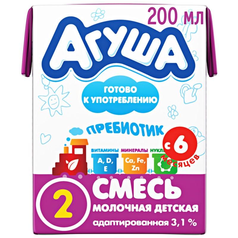 Адаптированная кисломолочная смесь агуша: как давать, плюсы и минусы