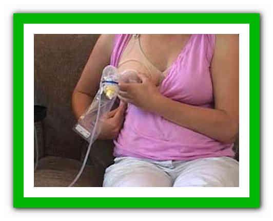 Как расцедить застой молока дома?