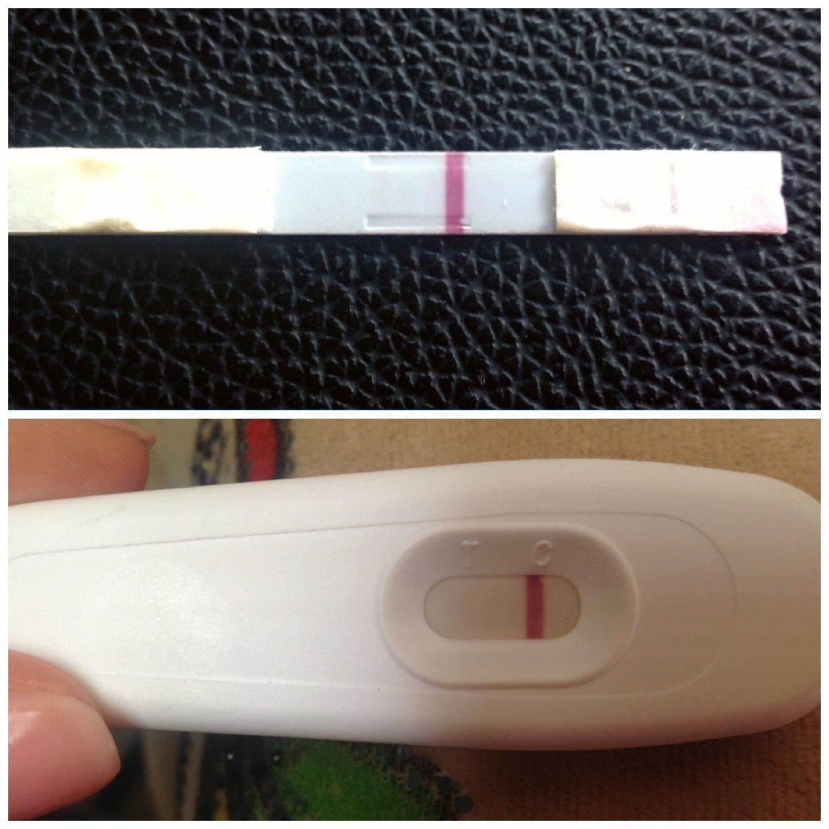 Что означает слабоположительный тест на беременность?