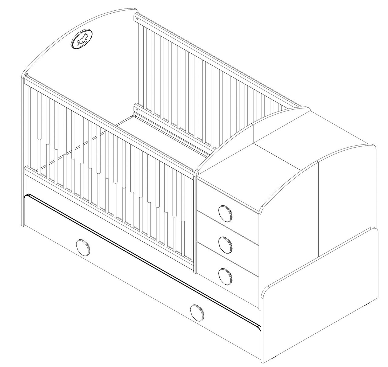 Топ-18 видов детских кроваток для новорожденных: описание и обзор качеств