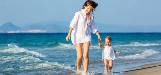 Акклиматизация у ребенка на море: что делать