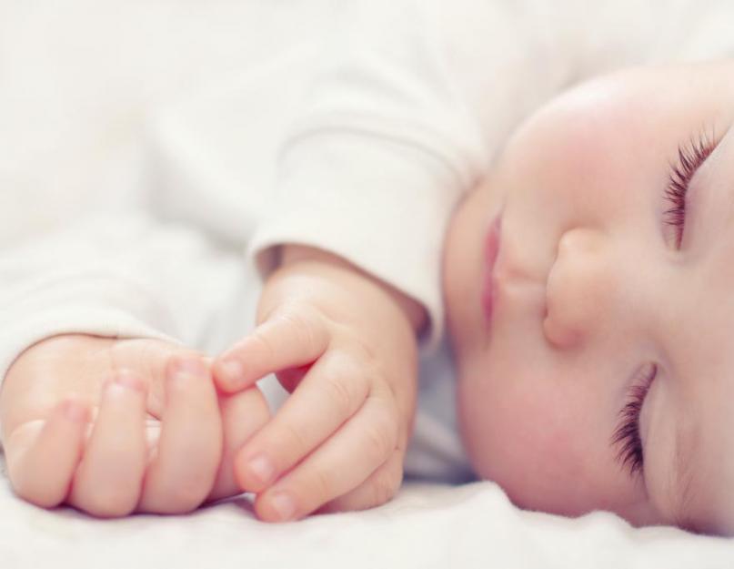 Суточная норма сна для новорождённого