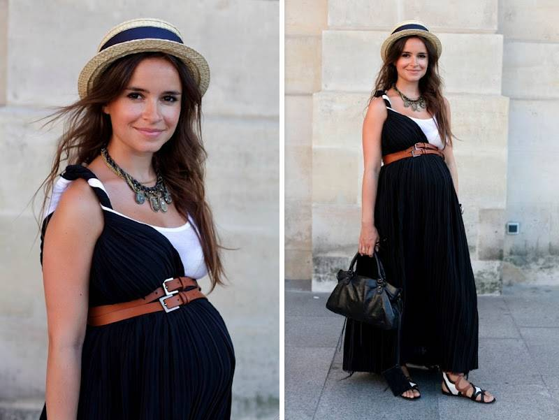 Жакеты, платья и брюки: стильные образы беременных натальи подольской и марины ким