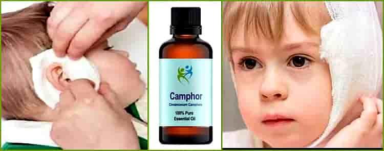 Камфорное масло: применение в ухо и при кашле у ребенка