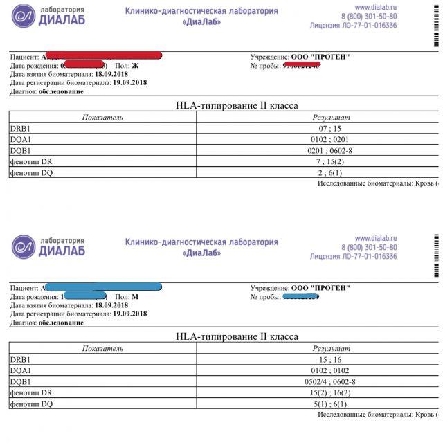 Hla-типирование супругов: что это такое, как происходит расшифровка результатов? | konstruktor-diety.ru