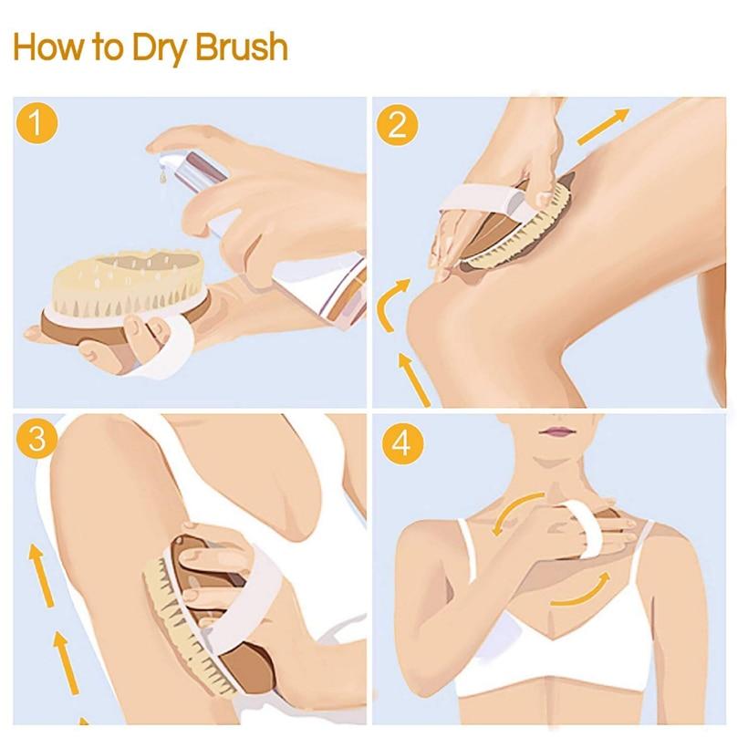 Как часто нужно делать массаж сухой щеткой от целлюлита