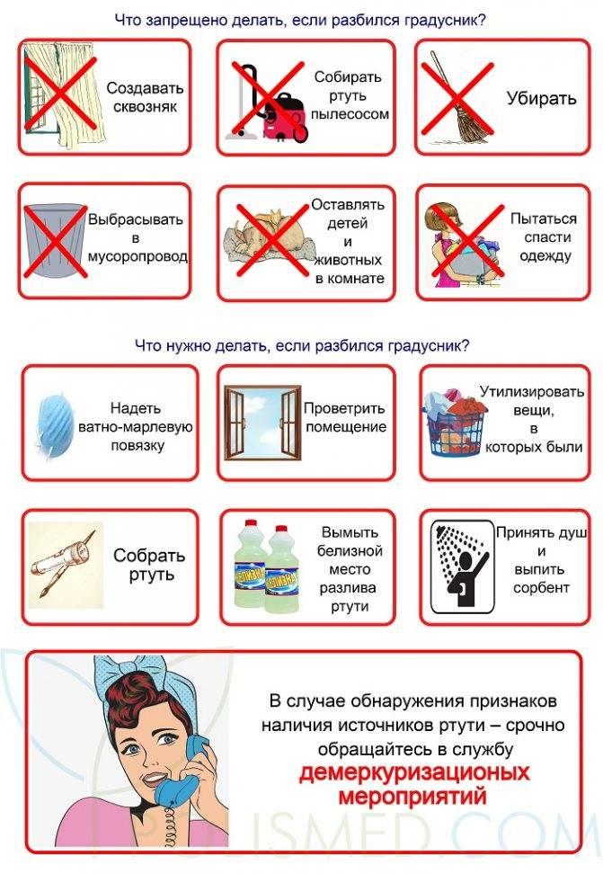 Как собрать ртуть, если разбился градусник в домашних условиях? – sam-sdelay.ru – сделай сам!