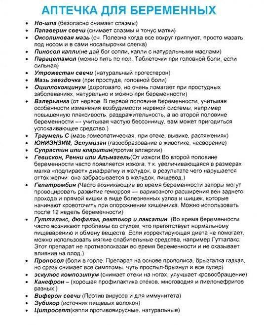 Лекарства для беременных от простуды / mama66.ru