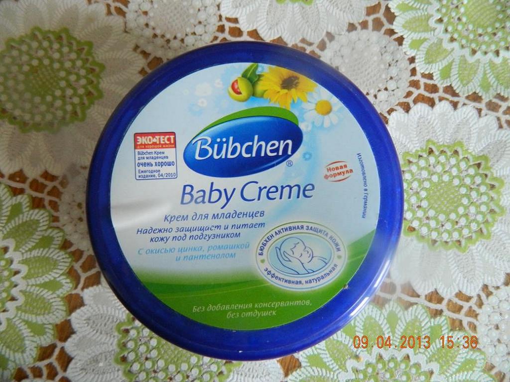 Крем для младенцев bubchen 150 мл - купить в интернет магазине детский мир в москве и россии, отзывы, цена, фото