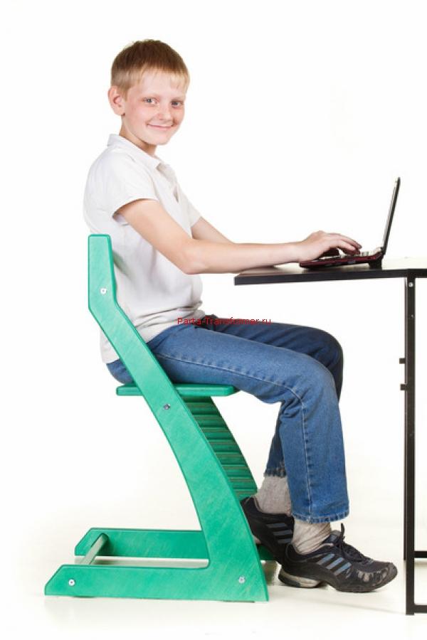Стул для школьника регулируемый по высоте: детский ученический ортопедический для первоклассника с регулировкой