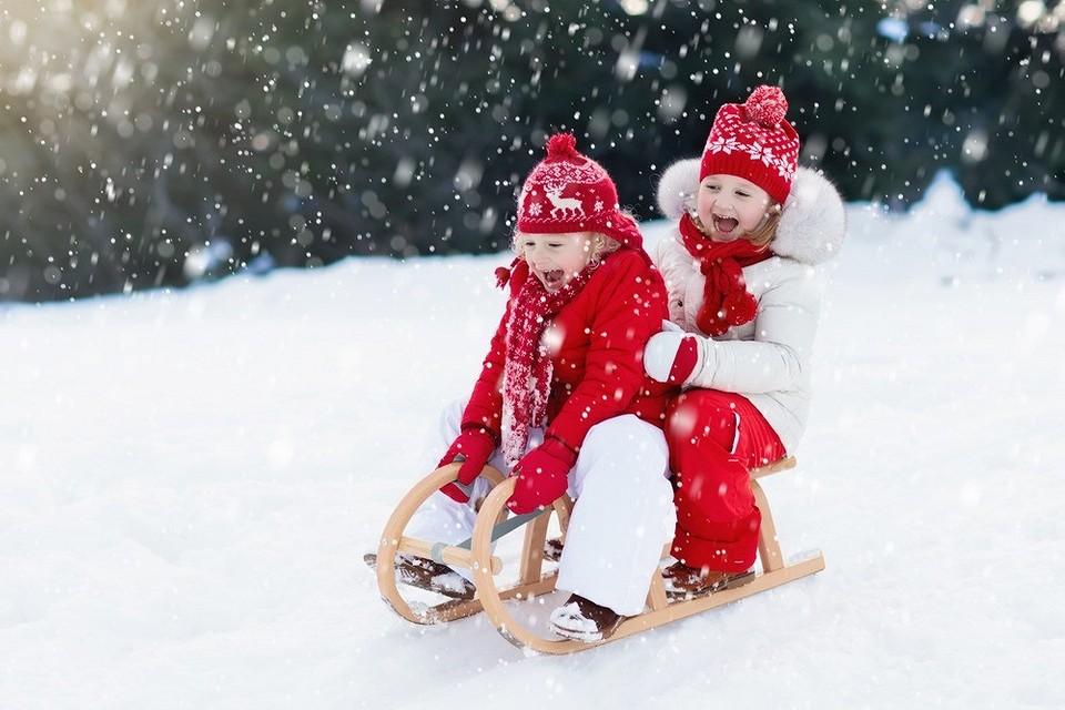 5 правил зимней прогулки с ребенком