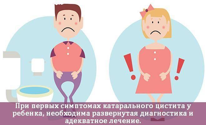 Цистит у детей: причины, симптомы, лечение (в домашних условиях и в стационаре), особенности болезни у мальчиков и девочек