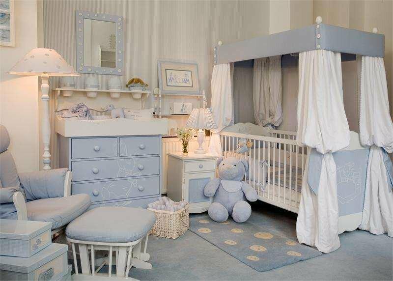 Детская комната для новорожденного: 73 фото идей оформления