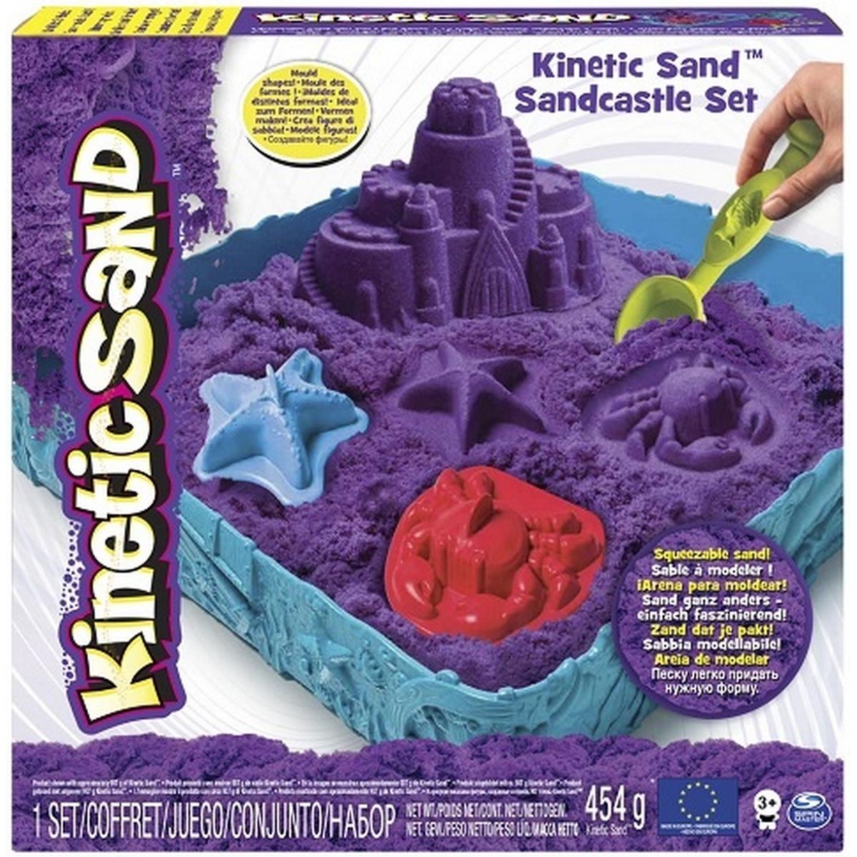 Детский кинетический песок: интерактивный продукт для творчества