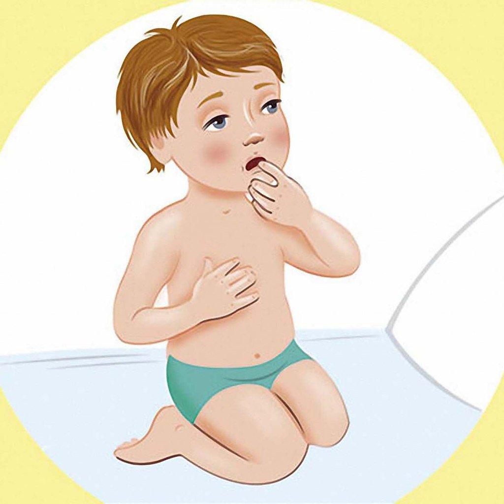 Чем растереть ребенка при кашле: советы и рекомендации