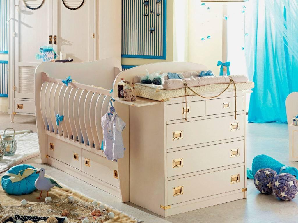Стандартные размеры детской кроватки от новорожденных до подростков