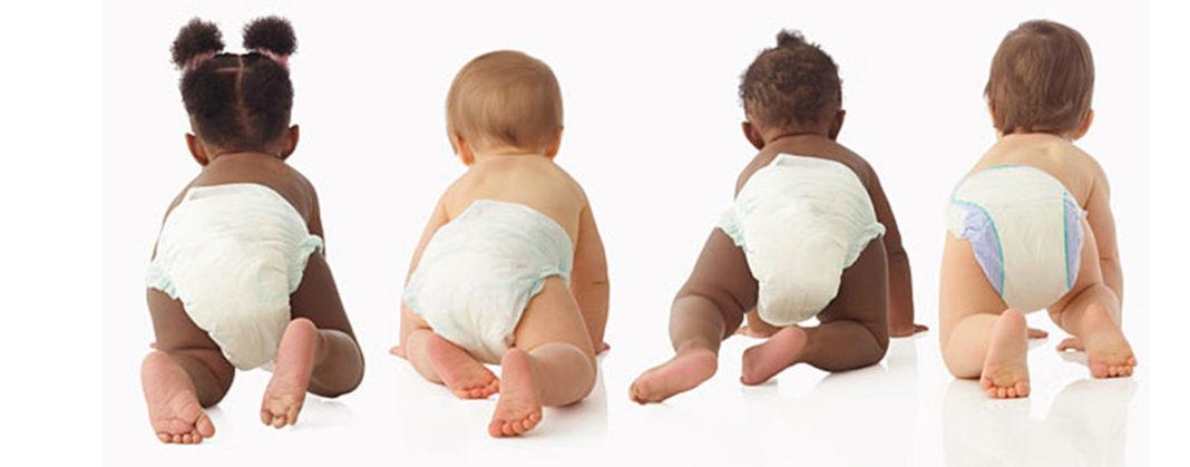 Памперсы - польза и вред подгузников для мальчиков и девочек
