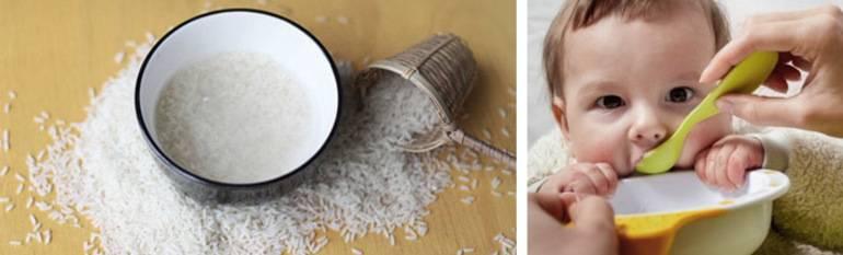 Как приготовить рисовый отвар от поноса для ребенка