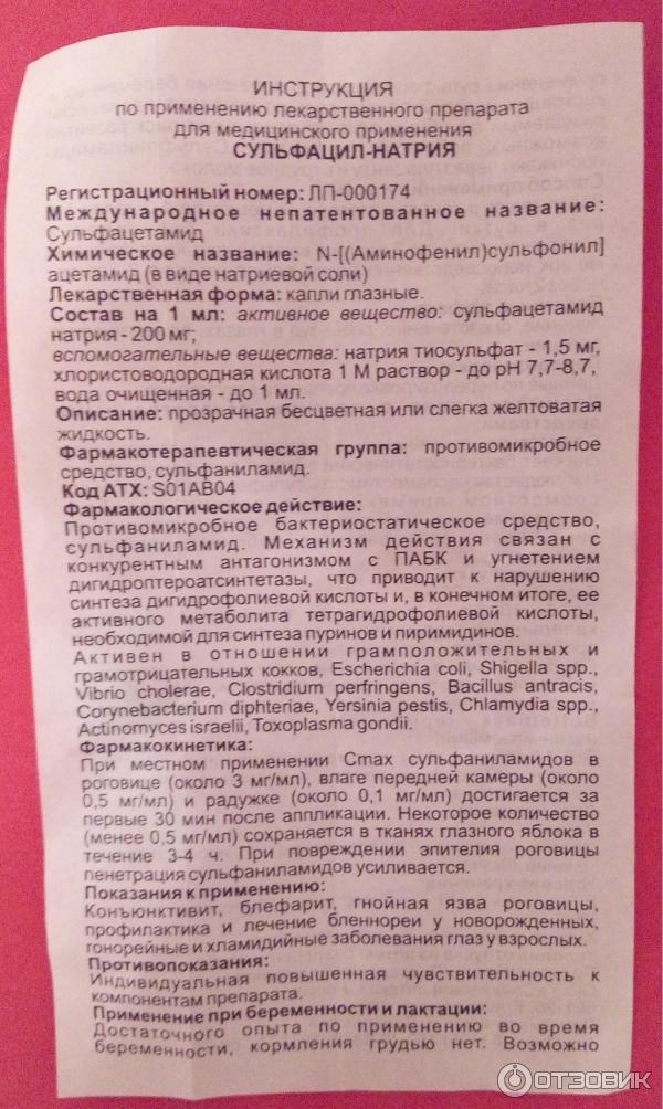 Альбуцид-df (30%)