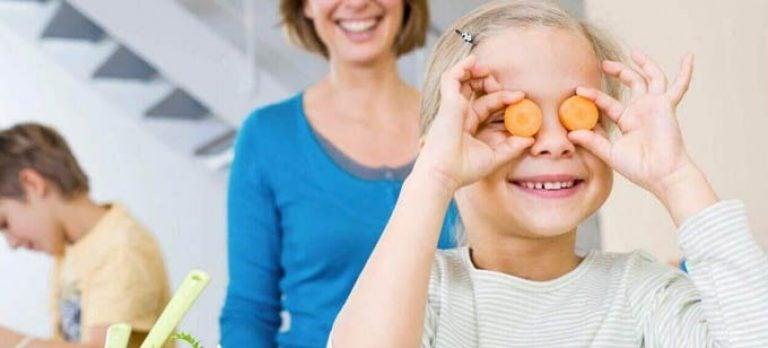 Витамины для детей при близорукости
