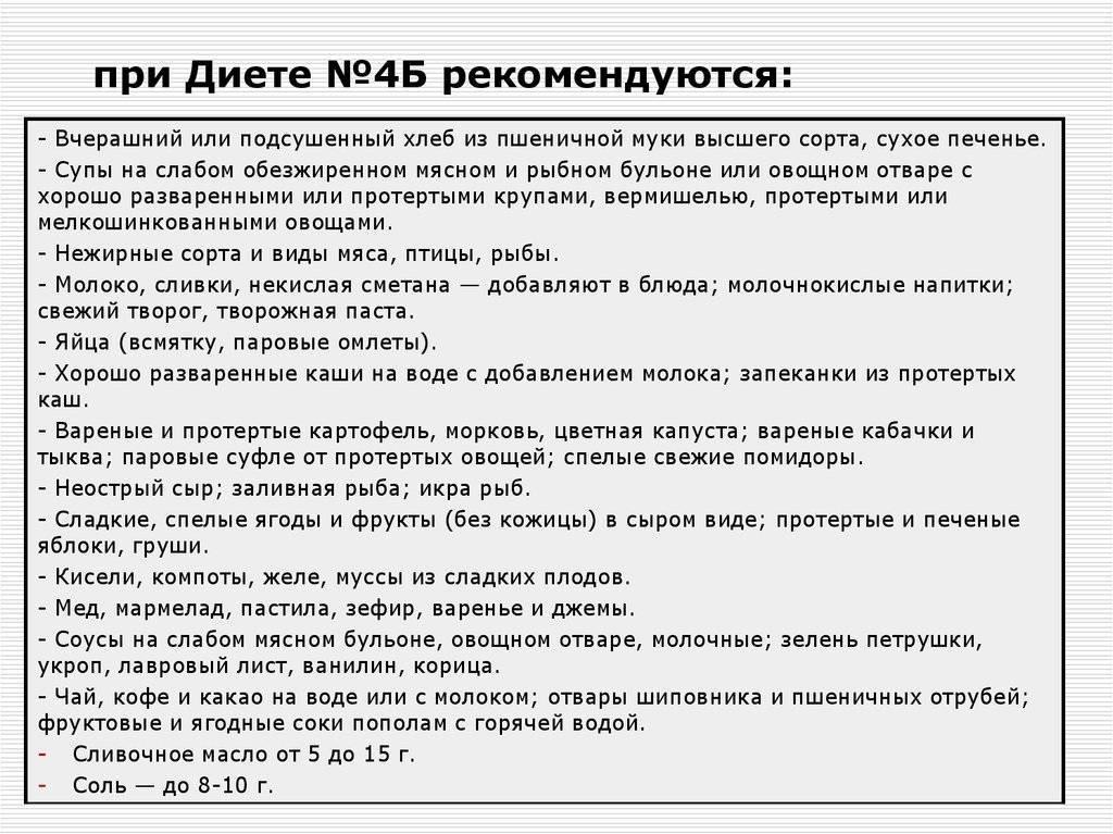 Стол 7а Диета Меню На Неделю