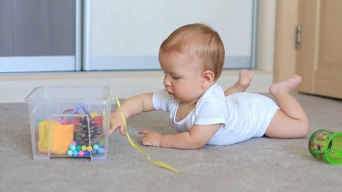 Развивающие игры с 6-, 7-, 8-, 9- и 10-месячным ребенком: как и сколько играть дома