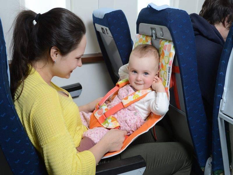 В самолете с новорожденным. первый опыт перелета.