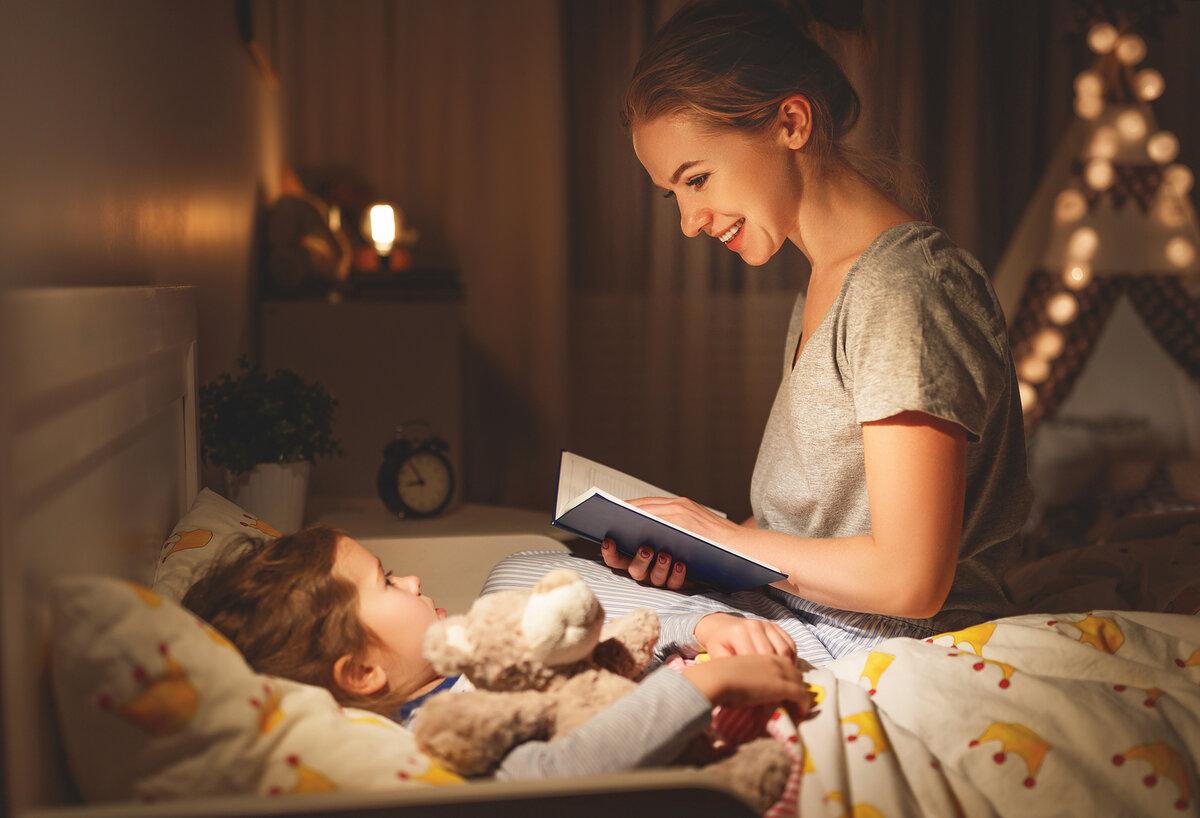 Сказка для детей на ночь - читаем малышу перед сном