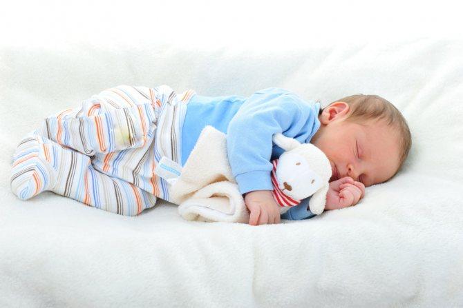 Можно ли новорожденному спать на животе  2020