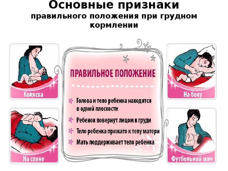 Как правильно делать массаж груди при кормлении
