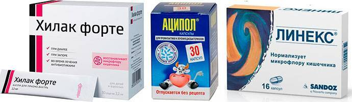 Восстановление микрофлоры кишечника при приеме антибиотиков: поддерживающие лекарства и народные средства