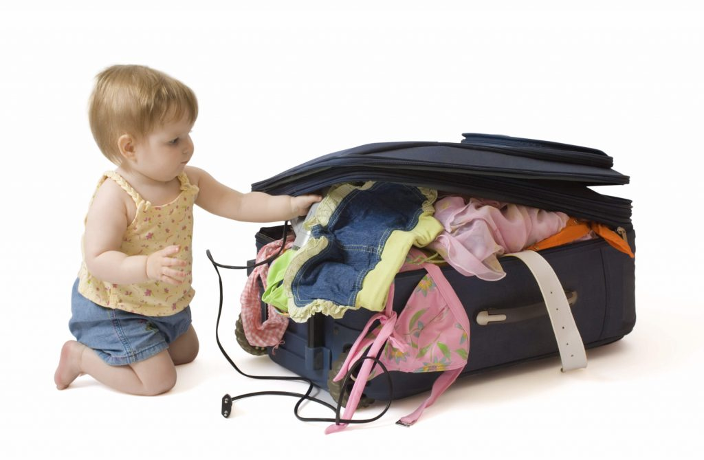 Список вещей в поездку с ребенком
