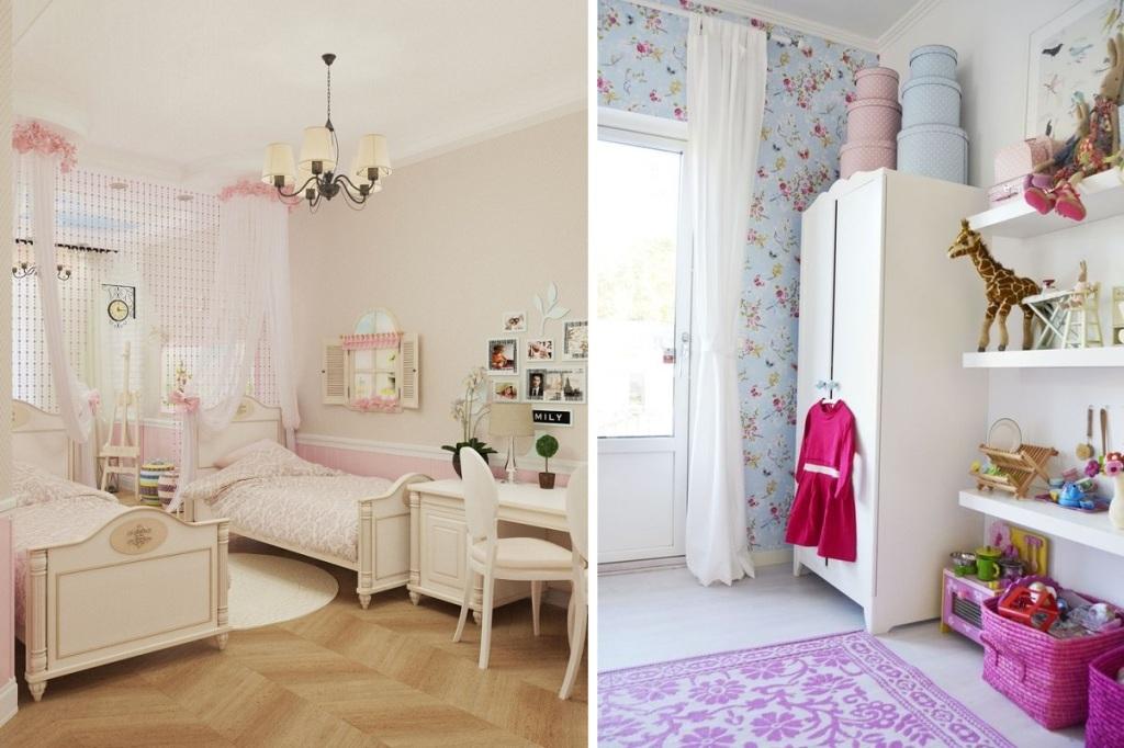 Детская в стиле прованс - подобраем мебель, освещение и декор