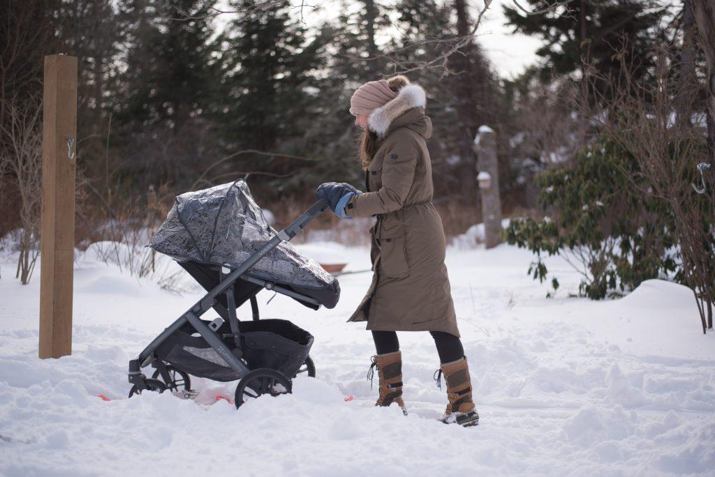 Когда можно гулять с новорожденным после роддома зимой