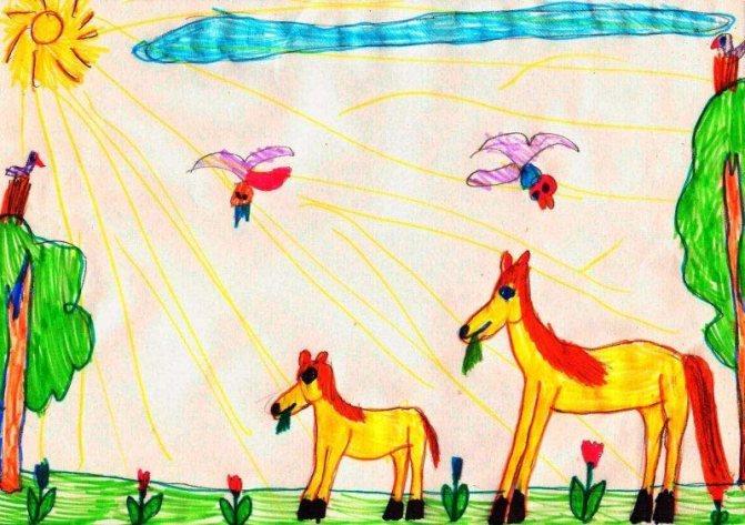 О чем говорит детский рисунок