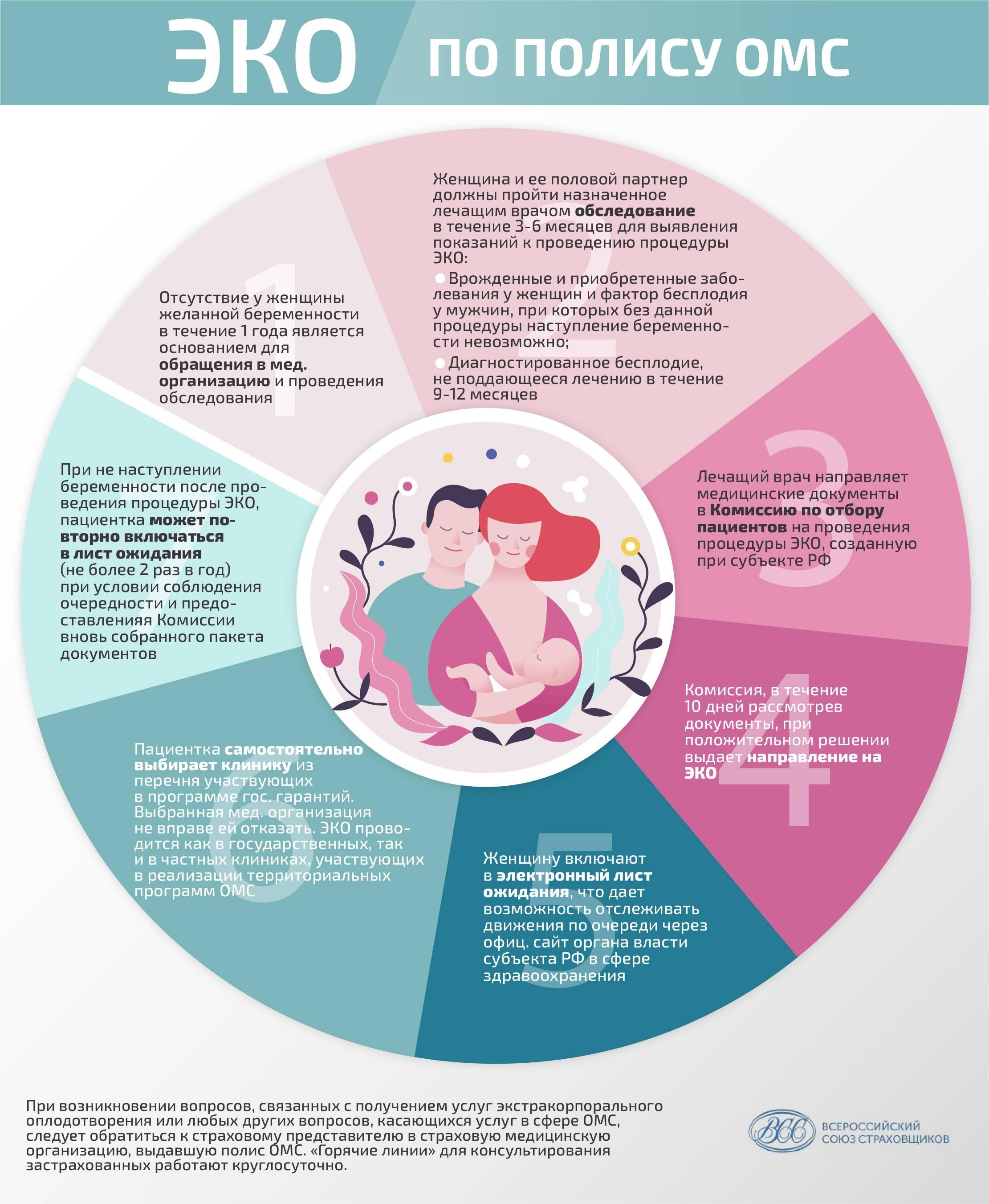Эко по омс в 2021 году: квоты, клиники и показания