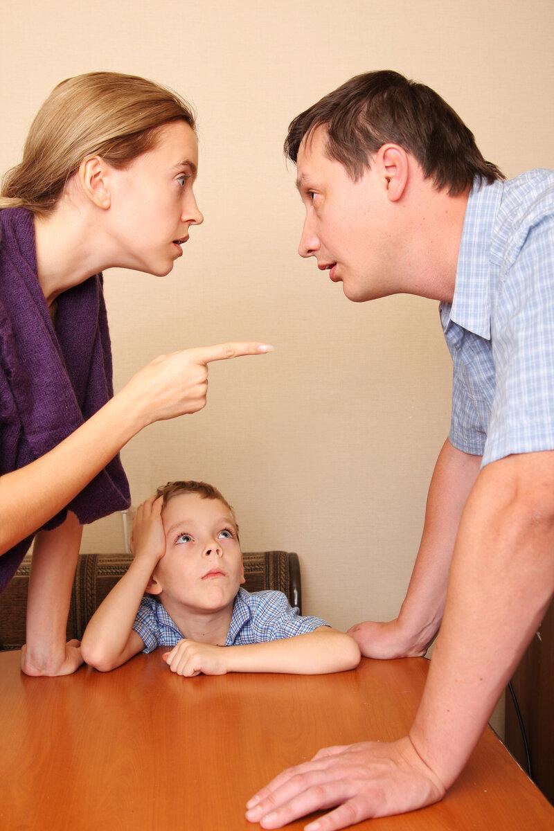 Ссоры при ребенке. 14 советов родителям.