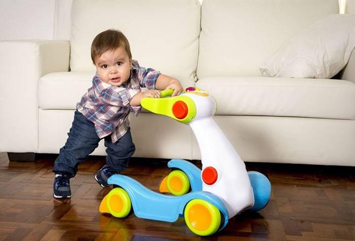 Развитие ребенка в 11 месяцев жизни: физическое и психологическое развитие