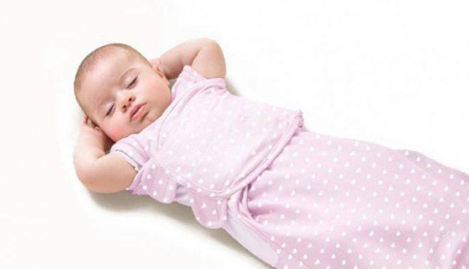 Как приучить ребёнка спать без пеленания: 7 способов