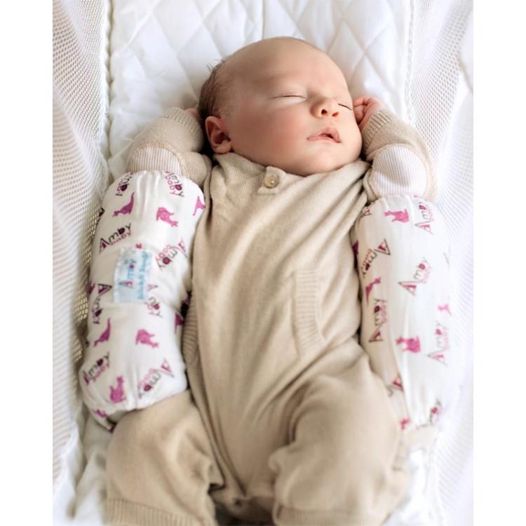 Анатомическая подушка для новорожденного