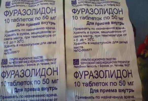Инструкция по применению фуразолидона для детей: как лечить понос и другие инфекции?