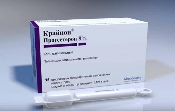 Для чего при ЭКО назначают гель и свечи Крайнон, как используют и отменяют препарат?