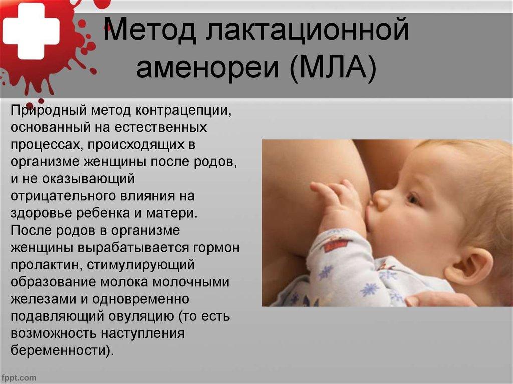 Метод лактационной аменореи | мла | контрацепция для мам